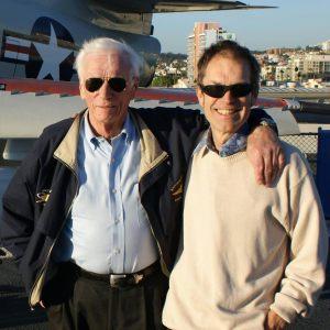 Gene Cernan and Mark Craig