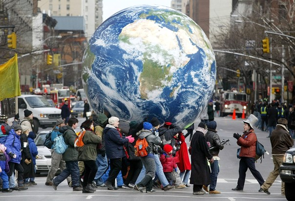 U.S. Protesters Gather For Peace In New York